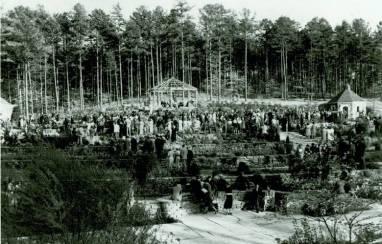 duke garden 1939 dedication
